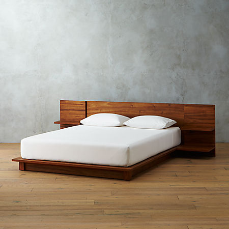 Andes Acacia Platform Bed Reviews Cb2