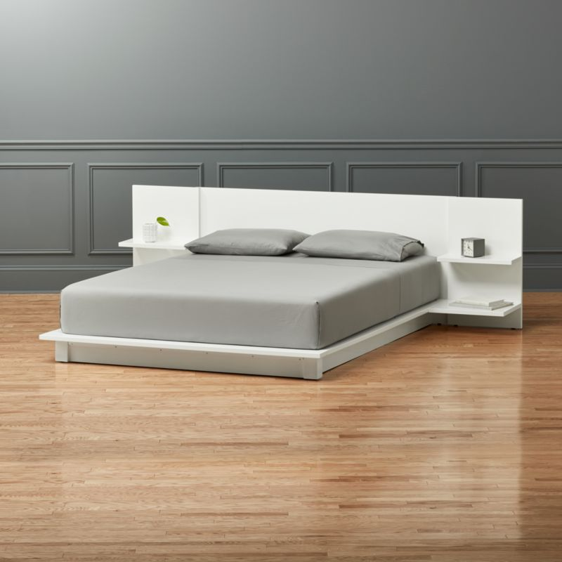 new concept 19316 dbaf8 Andes White Queen Bed