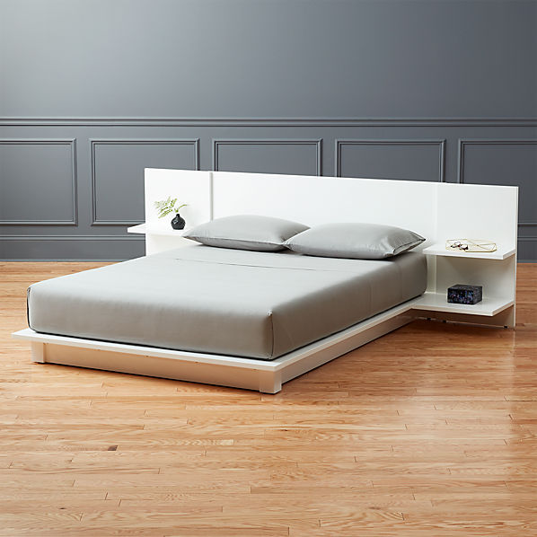 Andes White Bed
