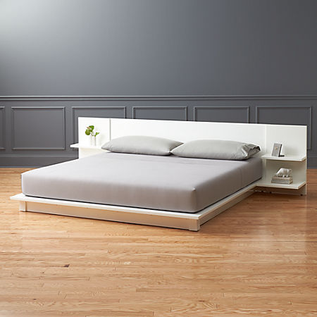 Andes White King Bed