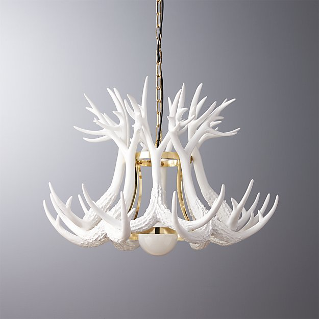 Well-liked antler pendant light + Reviews | CB2 HA65
