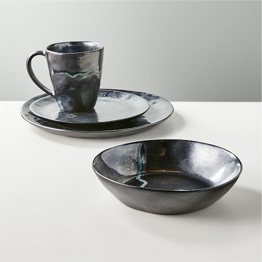 4-Piece Anzu Place Setting with Pasta Bowl