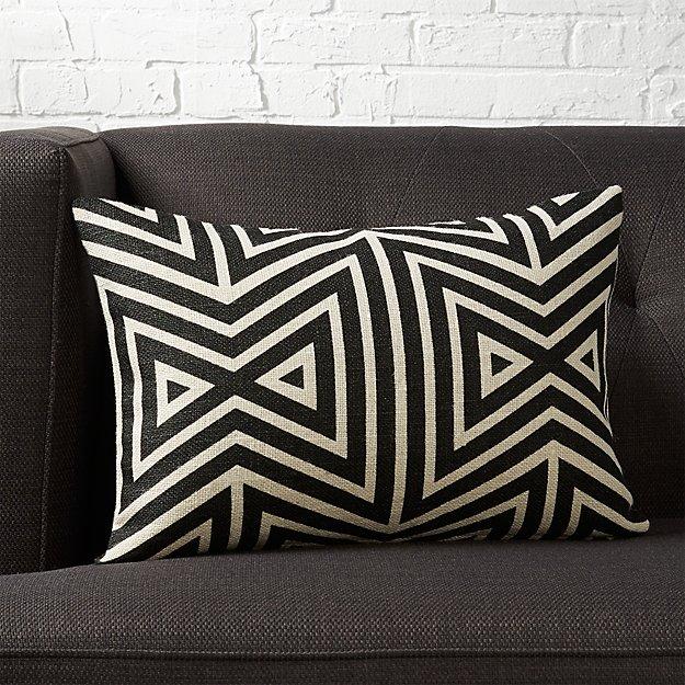 Cb2 Free Shipping >> 18 X12 Apani Pillow With Down Alternative Insert Reviews Cb2