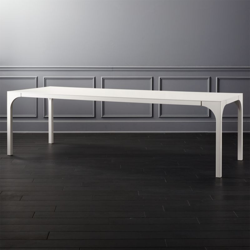 White Lacquer Furniture Cb2