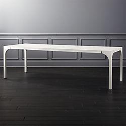 Aqua Virgo Large White Dining Table