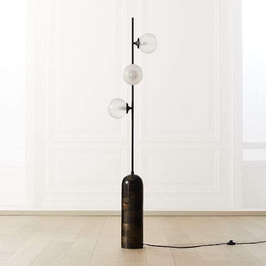 Aristocrat 3-Globe Floor Lamp
