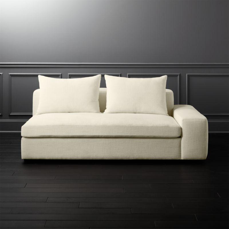 Arlo Snow Wide Right Arm Sofa