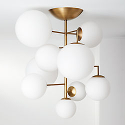 Modern Chandeliers And Pendant Lighting Cb2