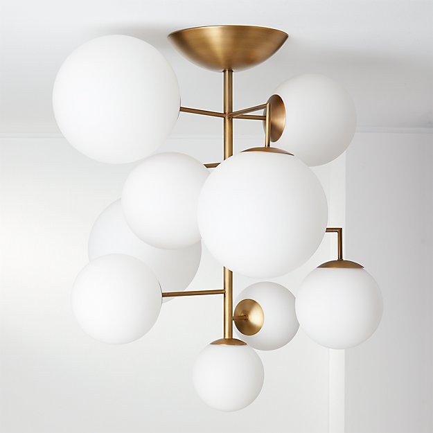 Artemis Frosted Chandelier - Image 1 of 10