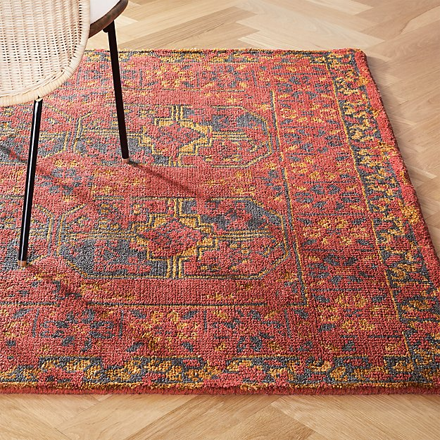 Asa Red Rug - Image 1 of 11