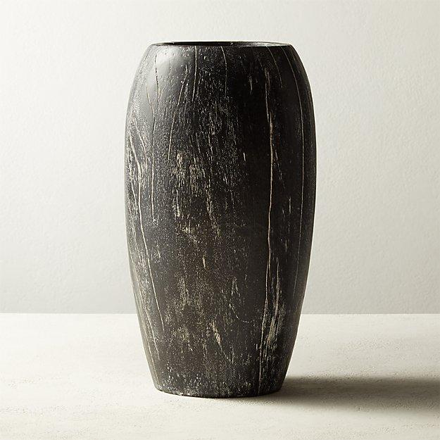 Asher Cerused Vase - Image 1 of 7