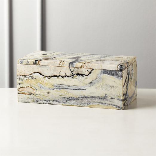 Aspect Grey Marble Box