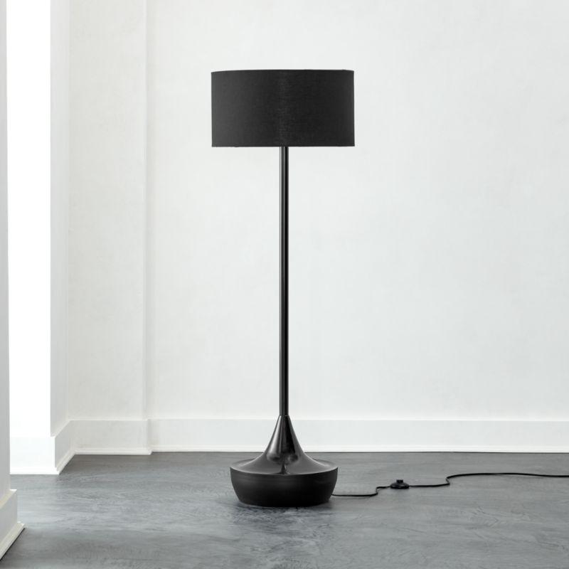 Atlas Black Floor Lamp Reviews Cb2