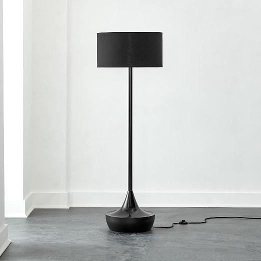 Atlas Black Floor Lamp
