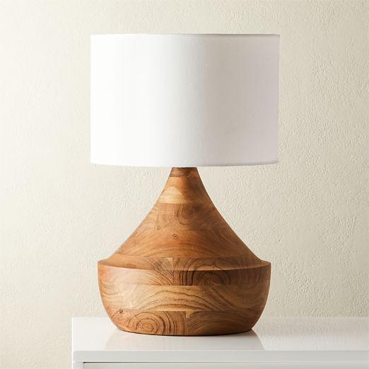 Atlas Natural Wood Table Lamp