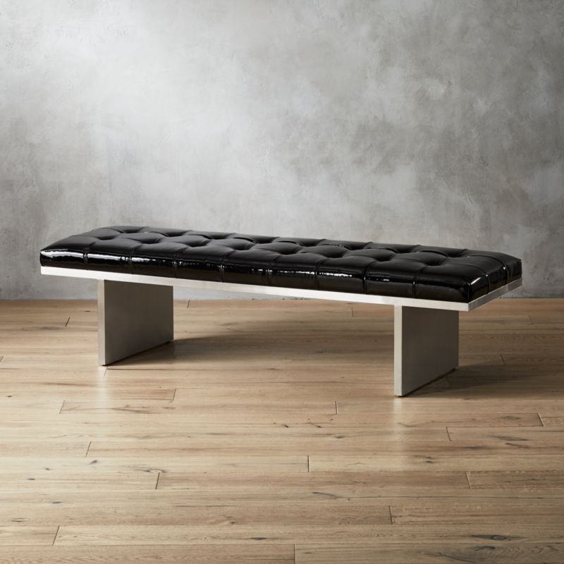 Modern Leather Benches Cb2