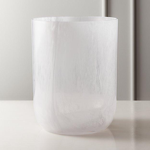 Aura Swirl Glass Wastecan - Image 1 of 11