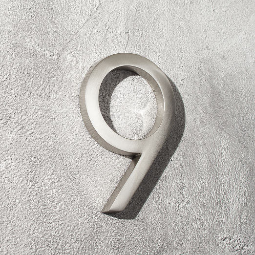 Modern House Numbers | CB2