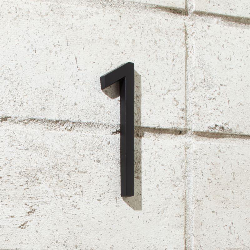 Aurele 4 Matte Black House Number 1
