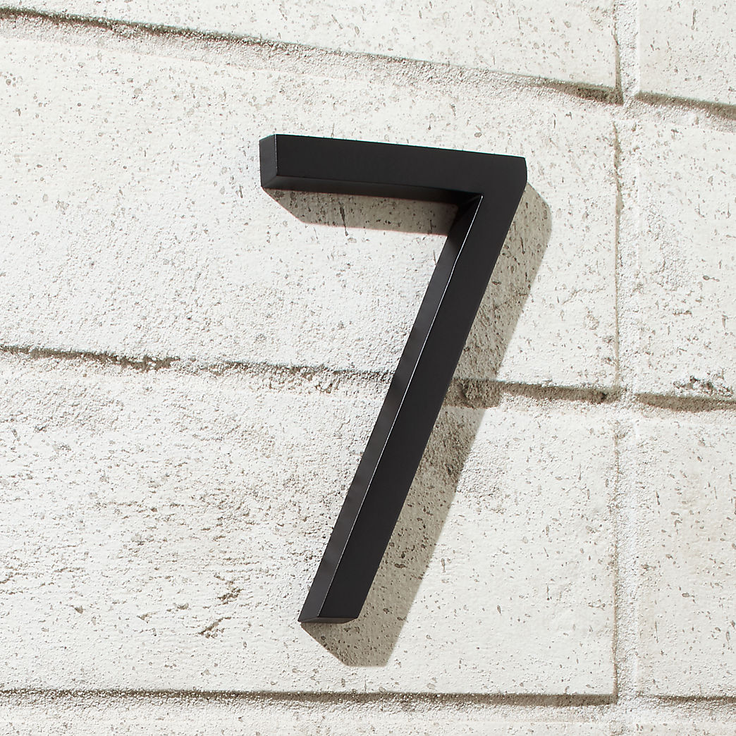 Modern house numbers cb2