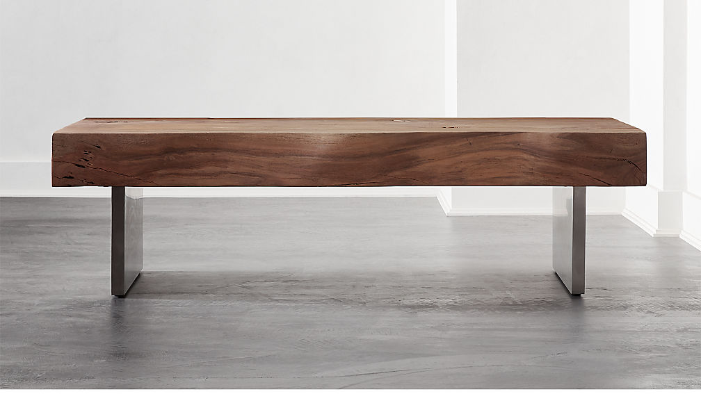 Austin Rectangular Live Edge Coffee Table - Image 1 of 7