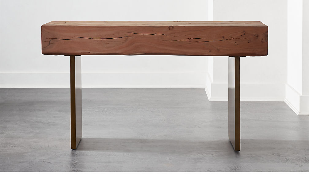 Austin Live Edge Console Table - Image 1 of 7