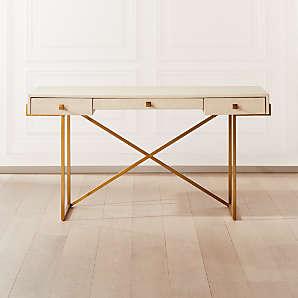 Faux Shagreen Furniture Cb2