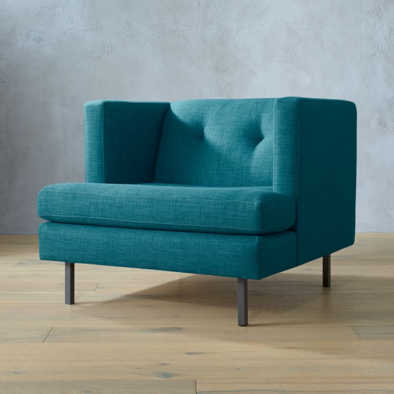 Genial Modern Blue Chairs | CB2