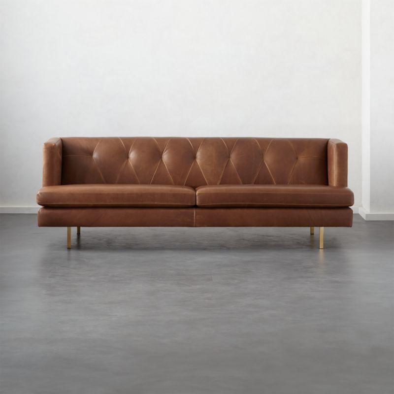 Low Back Sofas Cb2