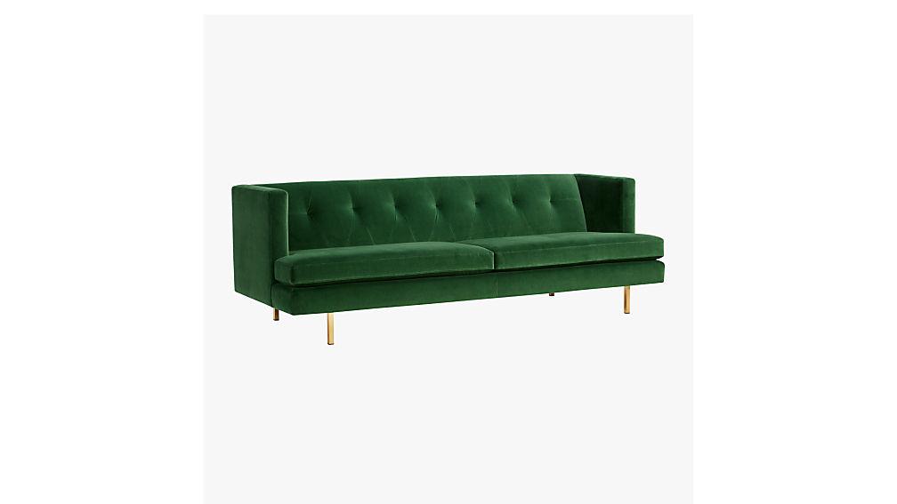 Avec Grey Mid Century Modern Sofa + Reviews | CB2
