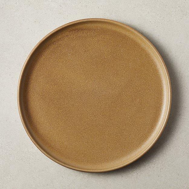 Axel Caramel Dinner Plate - Image 1 of 6