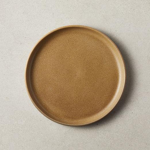 Axel Caramel Salad Plate