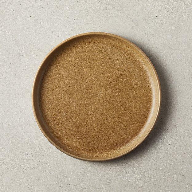 Axel Caramel Salad Plate - Image 1 of 6