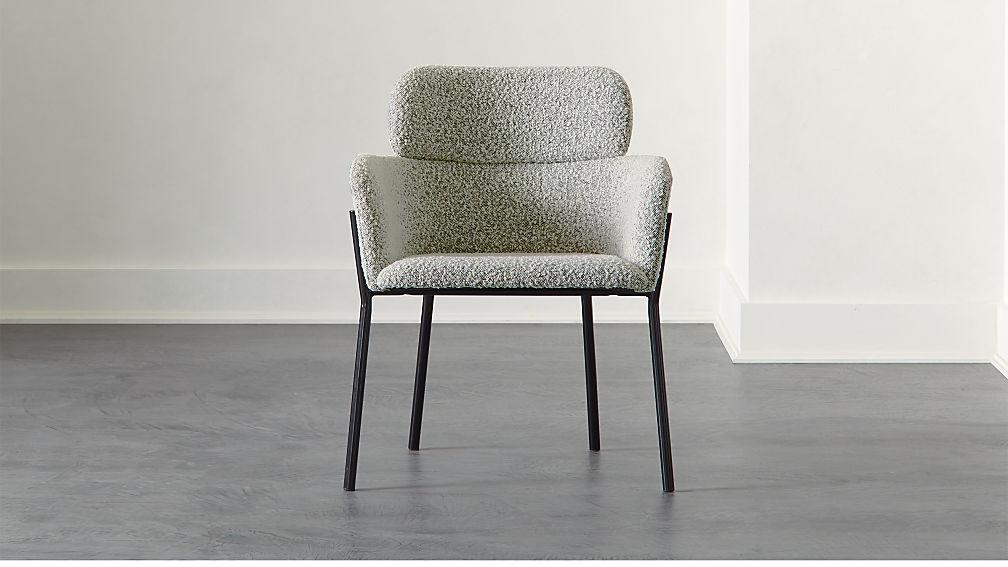 Azalea Boucle Chair - Image 1 of 6
