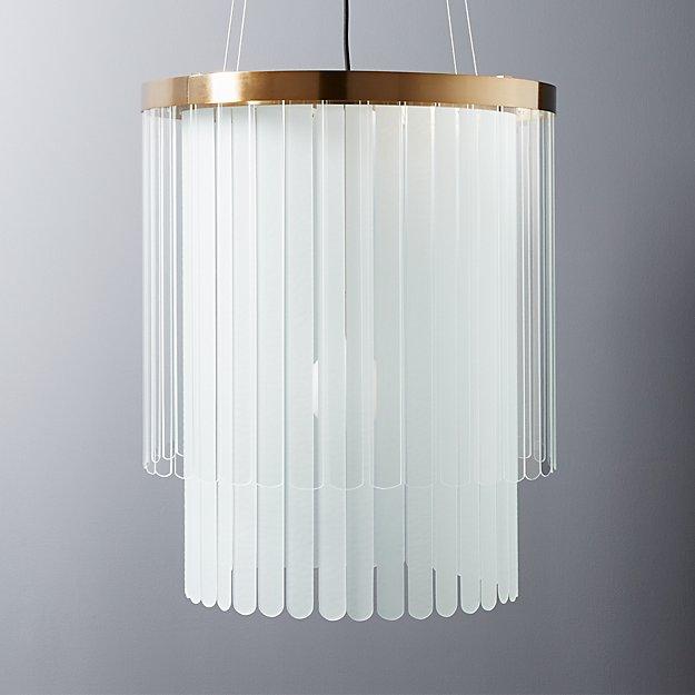 azalea chandelier + Reviews   CB2