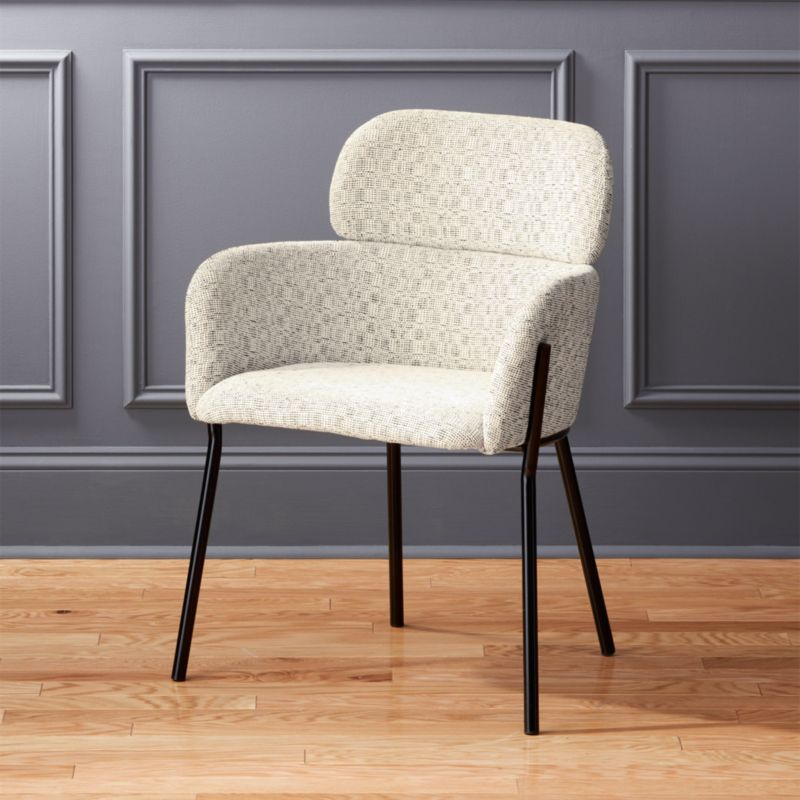Azalea Ivory Moon Chair