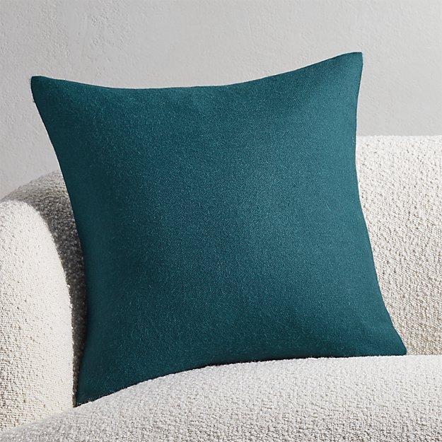 """20"""" Alpaca Teal Pillow - Image 1 of 4"""