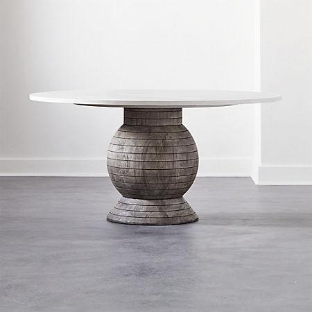 Balance Round Pedestal Dining Table