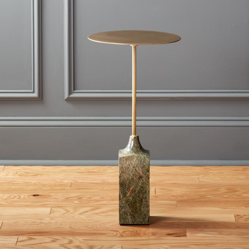 Gold Holiday Decor And Christmas Decor CB - Cb2 stone table