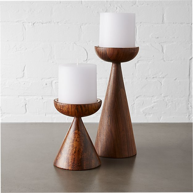 Baltic pillar candle holders cb2 mozeypictures Gallery
