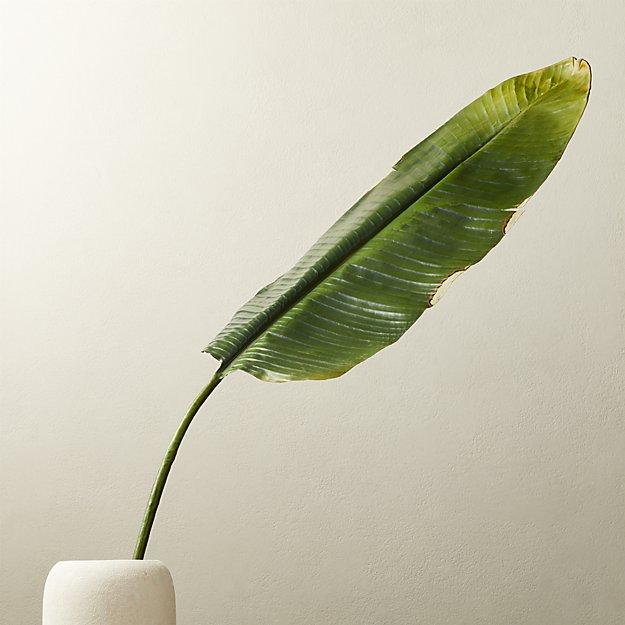 "Faux Banana Leaf 79"" - Image 1 of 3"