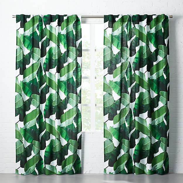Banana Leaf Curtain Panel 48x120 Reviews