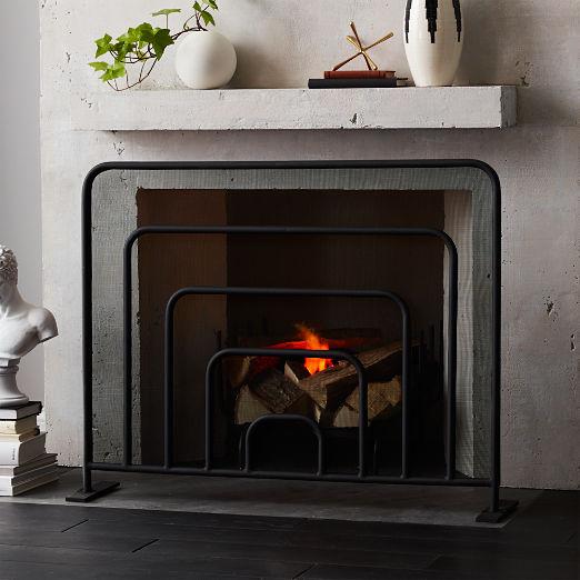 Banks Fireplace Screen