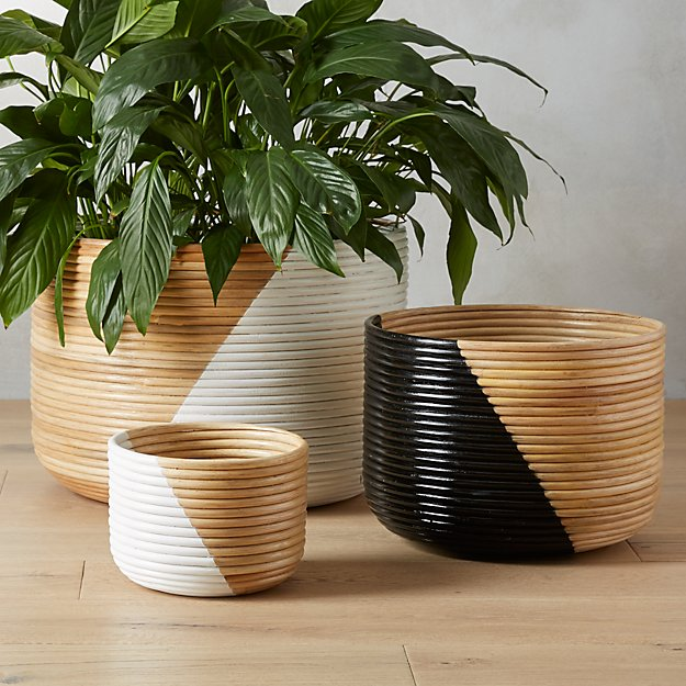 Basket Planters Cb2