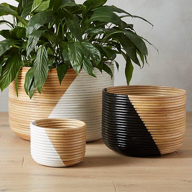 Basket Planters - Image 1 of 10