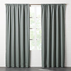 "View product image Graphite Grey Basketweave II Curtain Panel 48""x108"" - image 3 of 4"