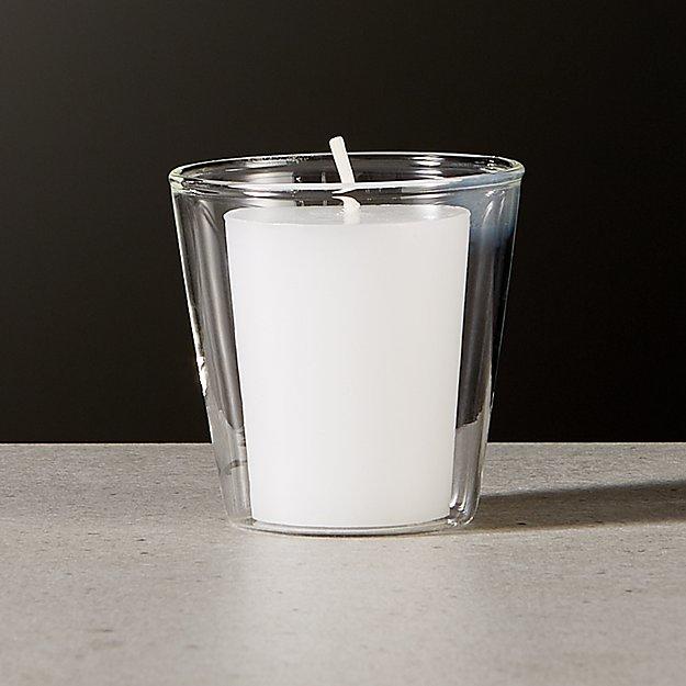 Beaker Glass Tea Light Candle Holder - Image 1 of 4