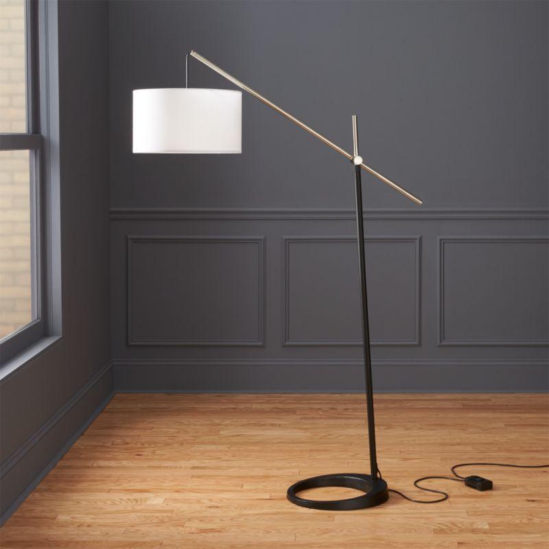 Beam Floor Lamp Reviews Cb2