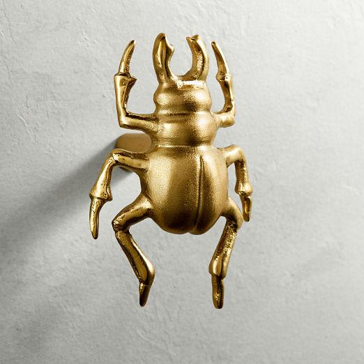 Beetle Brass Knob