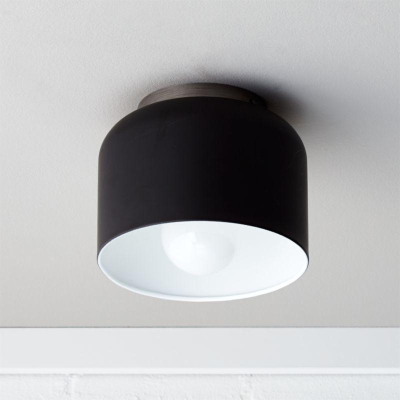 Bell Black Flush Mount Light Reviews